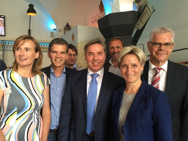 Treffen mit Ministerin Dr. Nicole Hoffmeister-Kraut